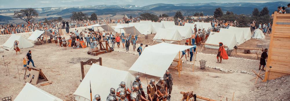Военно-исторический фестиваль на Федюхиных высотах