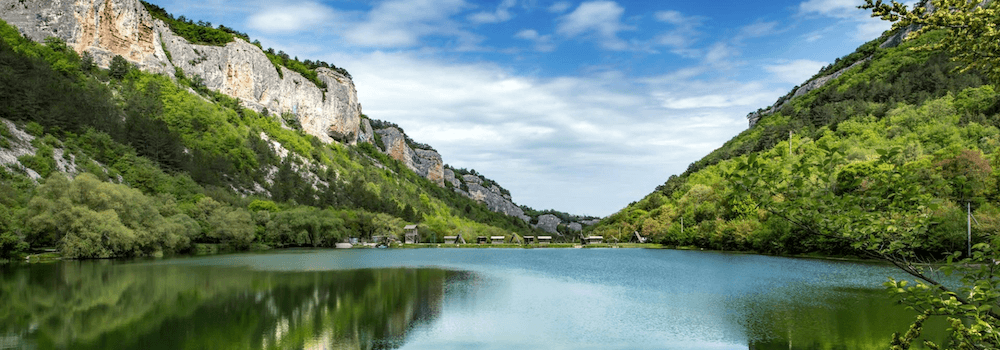 Озеро Мангуп в Бахчисарае