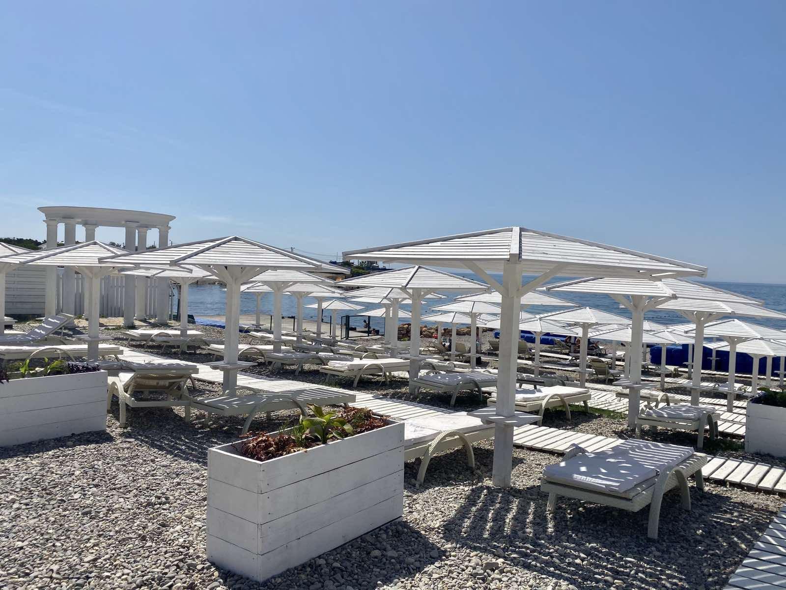 Фото лучших пляжей Крыма