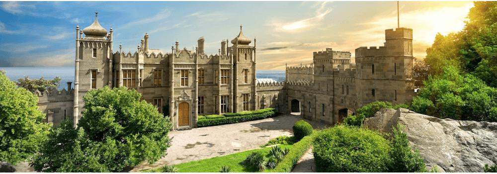 Воронцовский дворец с его красивейшим парком